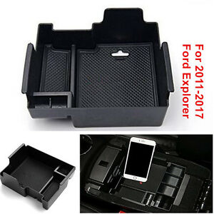 Secondary Storage Glove Pallet Center Console Trays For Ford Explorer 2011 2017