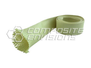 Made With Kevlar Fabric Sleeve 1 25 40mm Diameter 6 6oz 224gsm
