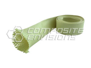 Made With Kevlar Fabric Sleeve 1 5 38 10mm Diameter 6 6oz 224gsm