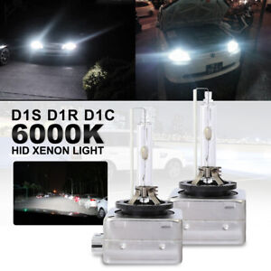 2pcs D1s D1c D1r 55w 6000k Oem Hid Xenon Headlight Bulbs Lamps Replacement Light