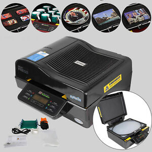 110v 3d Sublimation Heat Press Machine Printer Vacuum For Phone Cases Mugs Cups
