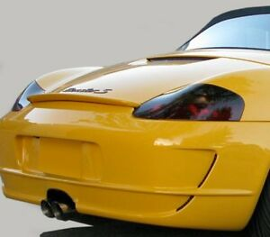 97 04 Porsche Boxster Vinyl Headlight Taillight Covers Tints Smoked 7 Pieces