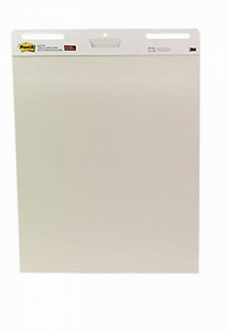 Self stick Easel Pad 25 X 30 5 Inches 30 sheet Pad 2 Pack Premium Bright White