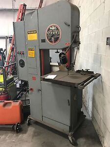 Doall 4 Way Bandsaw 60 Ton Hydrolic Press