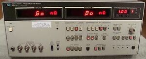 Hp Agilent 4274a Multi frequency Lcr Meter W Manual Nist Calibrated