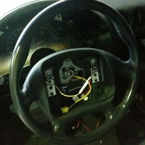 95 99 Firebird Trans Am Leather Steering Wheel Excellent Used Gray