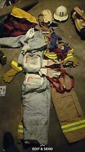 Morning Pride Turnout Gear Full Suit In Carry Bag