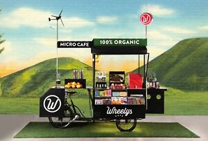 Mobile Vending Bycicle Cart