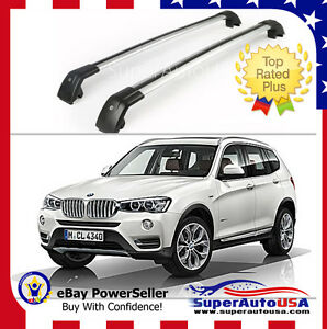 Top Roof Rack Fit For Bmw X3 F25 2011 2019 Baggage Luggage Cross Bar Crossbar Us