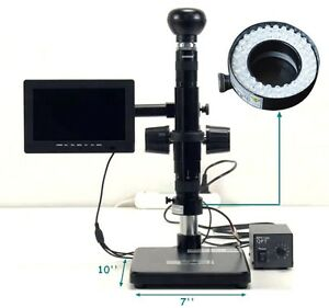 Digital Electric Industrial Inspection Zoom Video Microscope Amplifying Tool