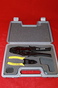 Shattuck Industries Ideal Cat 5e Electrical Crimper 60 3005 60 3011 Rj45