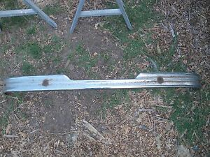 Vintage 1949 Plymouth Suburban Station Wagon Rear Bumper Solid Straight