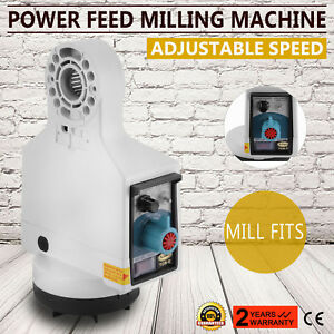 X Axis Power Feed Milling Knee Mills Fits Bridgeport Acer Adjustable Speed