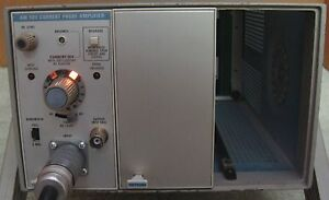 Tektronix Am 503 Current Probe Amplifier W A6303 Probe Tm 503b Calibrated