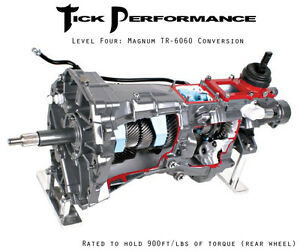 Tick Level 4 T56 Magnum Tr 6060 Conversion Transmission 98 02 Ls1 Camaro 900rwtq