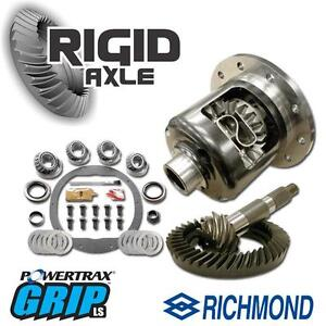 Gm 8 5 10 Bolt Powertrax Posi Package W 3 73 Richmond Gears Master Bearing Kit