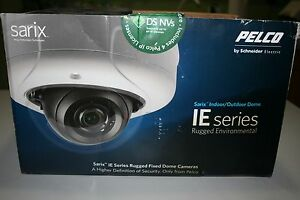 Never Used Pelco Ie10dn8 1 Dome Security Camera Sarix Indoor Outdoor Ie Series