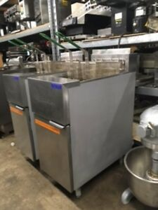 Very Clean Frymaster Gf14sd Natural Gas Fryer 40 Lbs One Left
