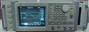 Tektronix Awg2021 Arbitrary Waveform Generator W opt Nist Calibrated