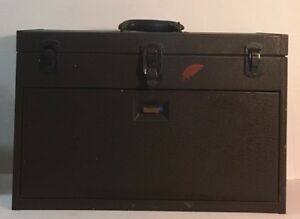 Vintage Kennedy 7 drawer Mill Lathe Apprentice Metal Machinists Tool Chest Box