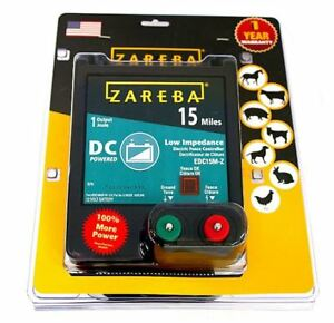Zareba Edc15m z Battery Operated Low Impedance Fence Charger 15 Mile