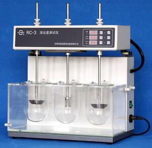 Dissolution Tester Tablet Capsule Dissolution Tester Three Vessels Rc 3 E