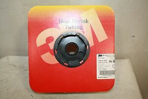 3m Fp 301 Black Heat Shrink Tubing 1 2 X 100 Feet