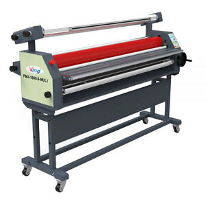 63 Full auto Wide Format Laminator Master Mounting Roll Cold Laminator By Sea