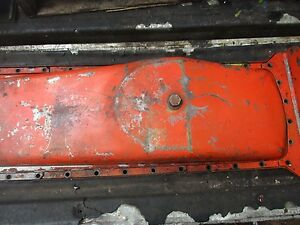 1963 Case 930 Diesel Comfort King Tractor Oil Pan Free Shipping
