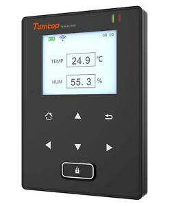 Temlog W1h Wifi Temperature And Humidity Data Loggers Intelligent Remote Monitor