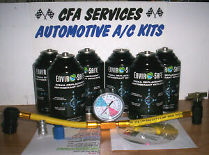 6 Xl Cans R12 Systems Compatible Maxi Refrigerant 12a Recharge Kit 1994 Older