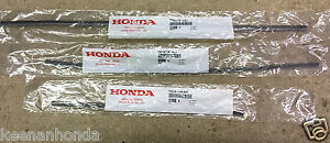 Genuine Oem Honda Odyssey Front Rear Wiper Rubber Insert Set Inserts 2018 2019