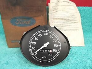 1972 77 Ford Big Truck Speedometer Nos Ford 717