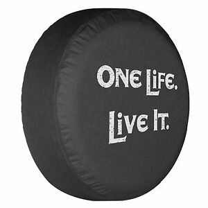 35 One Life Live It Tire Cover Boomerang Fits Jeep Wrangler Usa