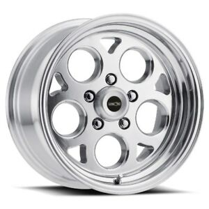 17x4 5 Vision 561 Sports Mag 5x120 Et 24 Polished Rims Set Of 4