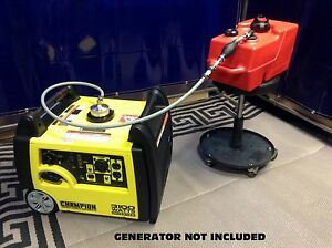 Champion 3100w Inverter Generator 3 Gal Extended Run Fuel System