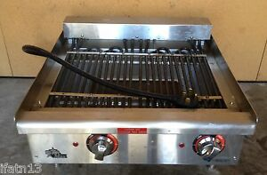 Great Condition Star max Countertop 24 Electric Charbroiler 5124cf