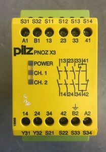 Pilz Pnoz X3 774310 Safety Relay 3n o 1n c 1so Used Tested
