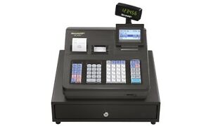 Sharp Xea407 Advanced Reporting Cash Register New