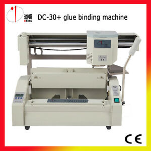Dc 30 A4 Perfect Binding Machine glue Binding Machine Glue Book Binder Machine