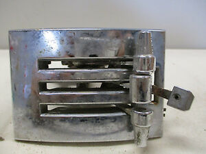 1965 1966 Ford Mustang Heater Temp Def Control Pannel Parts Only