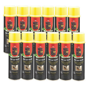 Great Stuff Big Gap Filler Expanding Straw Foam 20 Oz Case Of 12 157913