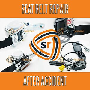Fits Honda Seat Belt Repair After Accident Pretensioner Rebuild Recharge