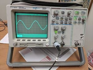 Agilent 54622a Digital Oscilloscope Tested And Working