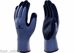 12 Pairs Delta Plus Venitex Vv735gr Apollon Winter Grey Coated Cold Work Gloves