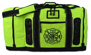 Newly Redesigned Lightning X Firefighter Fireman Quad vent Turnout Gear Bag W
