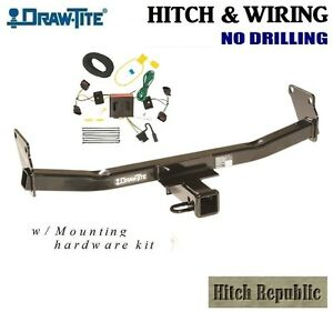 Class 3 Trailer Hitch Wiring Pkg For 2008 2017 Jeep Patriot 75712