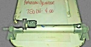 American Pneumatic Cylinder 750dv 4 00 Double Acting 3 4 Bore 4 Stroke