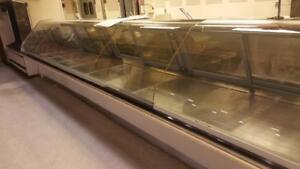 Hussmann Service Deli Meat Cheese Or Fish Curved Glass Cases 20 Run Model Rgsdl