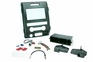 Ford Dash Kit For Ford F 150 Single Din Radio Replace Install Wire Harness